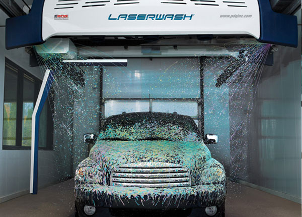 The New LaserWash Triple Coat